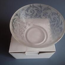 Stunning Small Frosted Glass Serving Dish - Brand New! North Ryde Ryde Area Preview