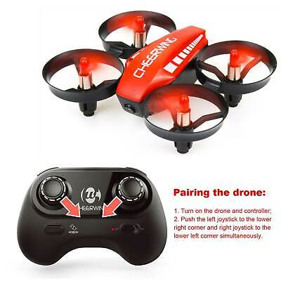 CW10 Mini RC Drone Wifi FPV RC Quadcopter Altitude Hold Mode with HD Camera Red