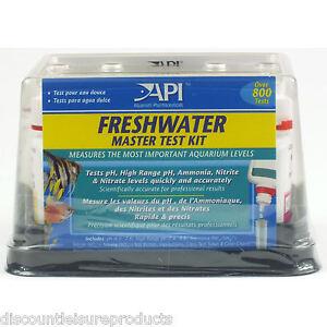 API Freshwater Aquarium Master Liquid Test Kit Fish Tank Water Testing | eBay