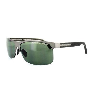 Porsche Design Sonnenbrille P8584 ein Dunkles Gusszinnbronze Grün