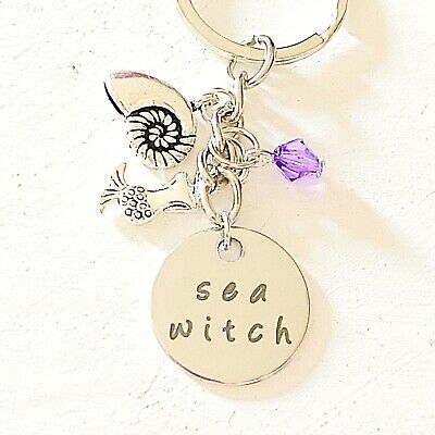 Little Mermaid Accessories (The Little Mermaid Ariel And Ursula-Inspired Accessories Keychain Sea)
