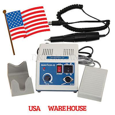 Dental Lab Marathon Micromotor Usa 35k Rpm High Speed Polishing Handpiece R-1r