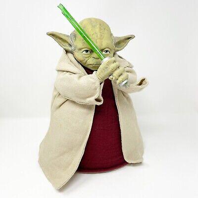 Disney Star Wars Yoda Jedi Light Up Lightsaber Christmas Tree Topper Holiday