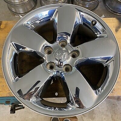 20 INCH 2013-2017 DODGE RAM 1500 OEM CHROME CLAD ALLOY WHEEL RIM 2450 2495