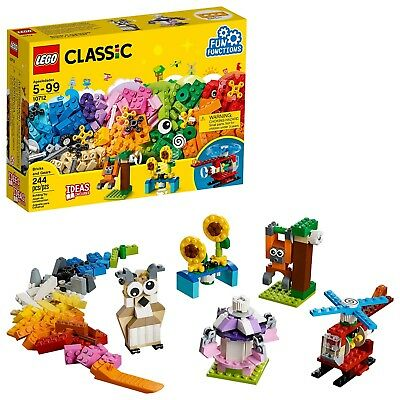 LEGO Classic Bricks and Gears 10712 Building Kit (244 Piece) Toy For Kids - Lego Gear Set