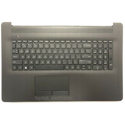 for HP 17-BY 17-CA 17-BY0061ST Gray Palmrest Keyboard & Touchpad L22750-001 USA