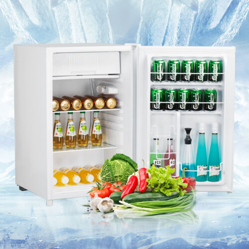 3.2 Cu Ft Compact Mini Dorm Small Fridge Refrigerator Cooler