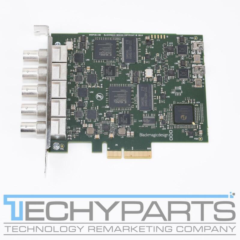 Blackmagic Design DeckLink Duo BDLKDUO SDI PCIe x4 Capture Card BMDPCB119B