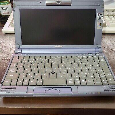Sony Vaio C1XF Picturebook Win98/Dos Portable