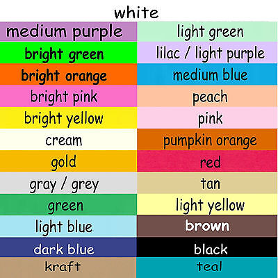 100 ACEO Cards Blank Color Cardstock 2.5x3.5 Plain Colored Card Stock 2½x3½ ATC