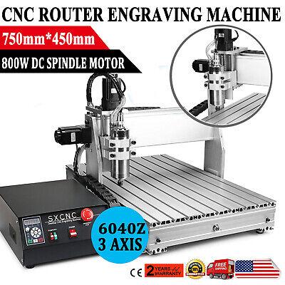 Cnc Router 6040 Engraver Milling Machine Engraving Drilling 3 Axis 6040 Desktop