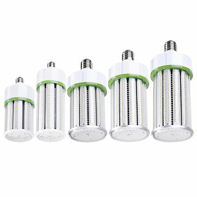 (LED CORN BULB 30W 60W 80W 100W 120W WATT Light Lamp 360°E26 E39 BASE 5000K UL)
