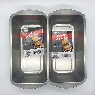 2 Pack Perfect Results Light Gauge Nonstick Baking Meatloaf Bread Loaf Pan