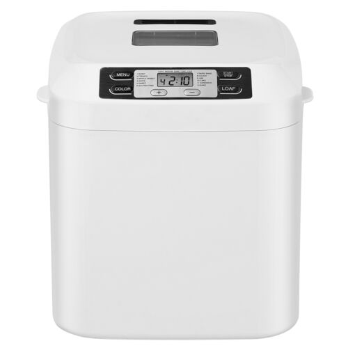 Bread Maker Machine 12 Presets 2 lbs Loaves Delay Function Nonstick Coating Bread Machines