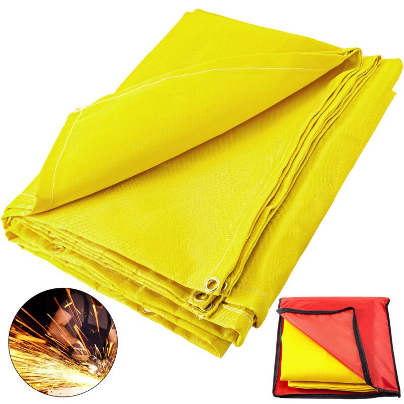 VEVOR Welding Blanket Fiberglass Blanket 6x10 FT Fire Retardant Blanket Golden