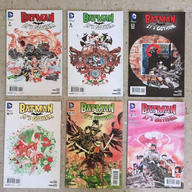 Batman: Li'l Gotham #1-12. Complete Series. DC Comics. Dustin Nguyen