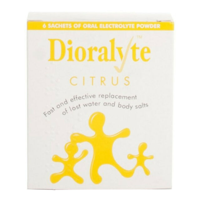 Dioralyte Citrus Rehydration Powder 6 - Multi Quantity