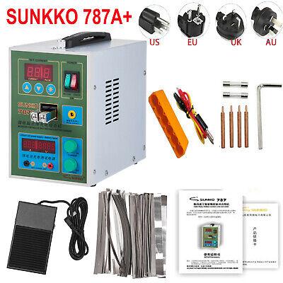 Sunkko 787a Spot Welder 18650 Battery Solder Welding Machine Microcomputer 220v