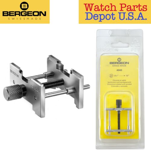 Bergeon 4040 Large Watch Movement Holder for Calibers 8 3/4