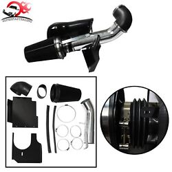 4 Cold Air Intake System/Kit+Heat Shield For 99-06 GMC/Chevy V8 4.8L/5.3L/6.0L