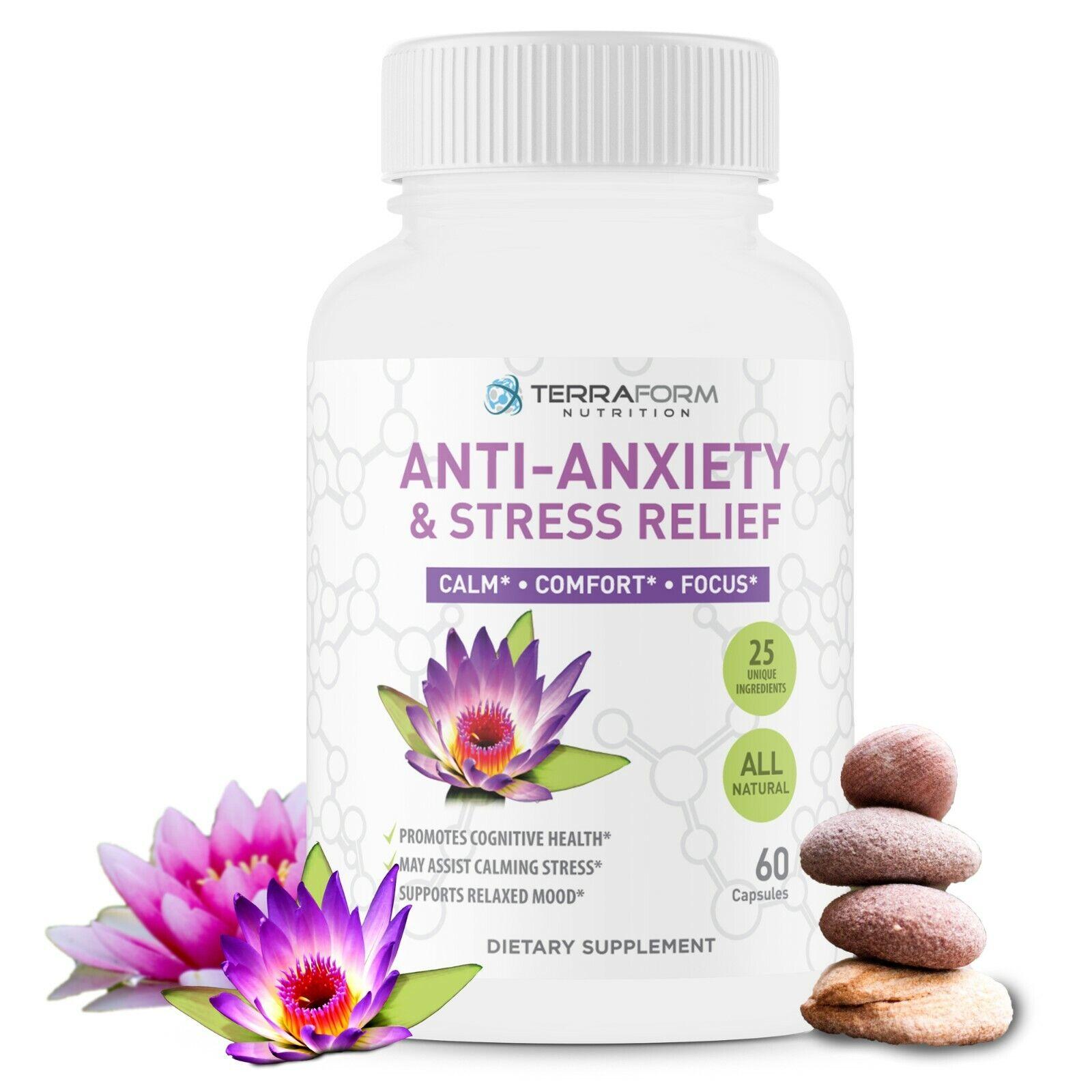 #1 Pastillas naturales para ayudar con la ansiedad el estres a relajarse