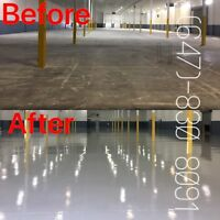 CityWide Epoxy Coating on all your Concrete Floors in the GTA!