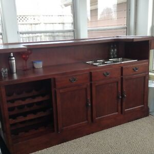 Beautiful Solid Wood Bar