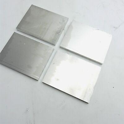 .625 Thick 58 Aluminum 6061 Plate 5 X 7.25 Long Qty 4 Sku 122305