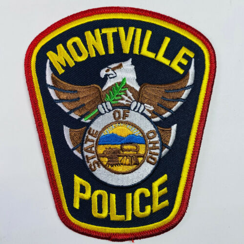 Montville Police Ohio Patch (A2)