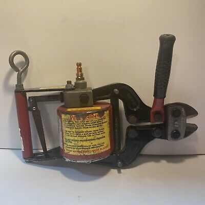 H.k. Porter Hkp Pneumatic Bolt Wire Cutter Model 9190 Tested And Working