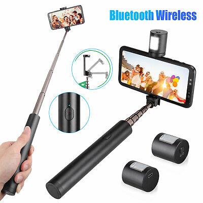 Extendable Selfie Stick Monopod Bluetooth Remote Shutter For