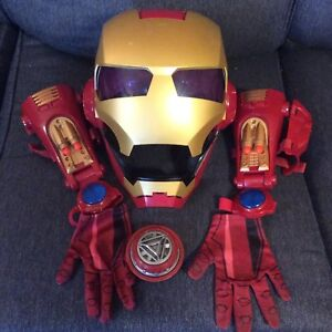 Ironman costume; Electronic