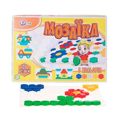 einkinder 127tlg Steckspiel Steckmosaik Steckpins   (Für Kleinkinder)