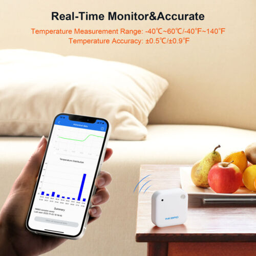 Bluetooth Humidity Temperature Thermometer Hygrometer Tempeature APP Monitoring
