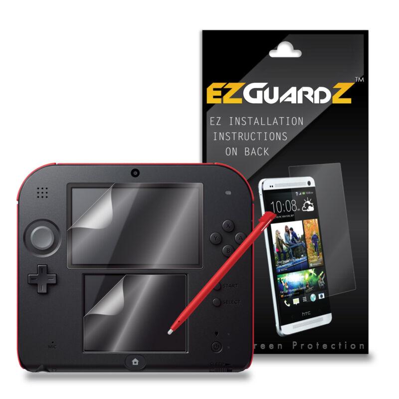 6X EZguardz Screen Protector Shield 6X For Nintendo 2DS (Ultra Clear)