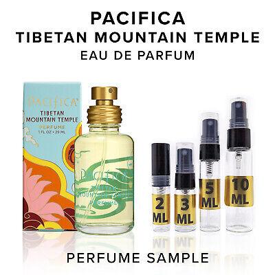 Pacifica Tibetan Mountain Temple EDP Perfume Sample Vial Travel Size Purse -