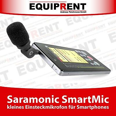 Saramonic SmartMic Mikrofon / Lavalier für Smartphone mit 3.5mm Klinke (EQB77)
