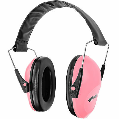 Boomstick Pink Ear Muff Safety Hearing Noise Protection Gun Shooting Range Work Hearing Protection