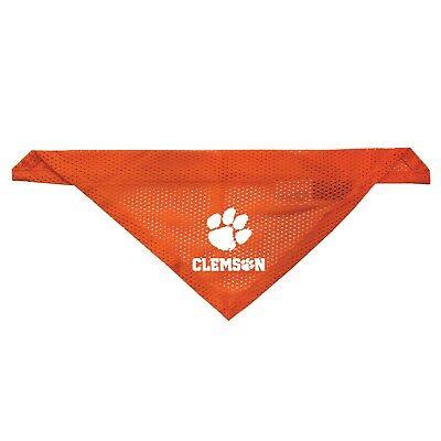 Clemson Tigers Dog Jersey - NEW CLEMSON TIGERS DOG CAT MESH JERSEY BANDANA 2 SIZES LICENSED