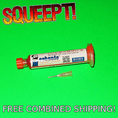 10ml Red Uv Curable Pcb Solder Mask - Mechanic Ry-uvh900 - 10cc Curing Cure