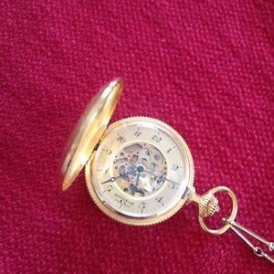 70's CARAVELLE POCKET WATCH