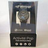 NEW Withings Activite Pop Activity & sleep Fitness Tracker Smart Watch Black NIB