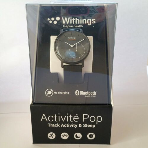 Withings Activit Pop Activity Tracker Watch Gray Silicone HWA01 POP SHARK GREY