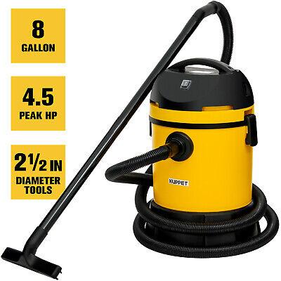 Portable 8 Gallon 3-in-1 Wet Dry Vacuum Cleaner Vac Shop 4.5 Peak Hp W Blower