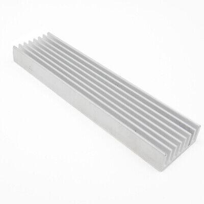 100x25x10mm Aluminum Heatsink Heat Sink Thermal Cooling Fin Blade Cpu Ic