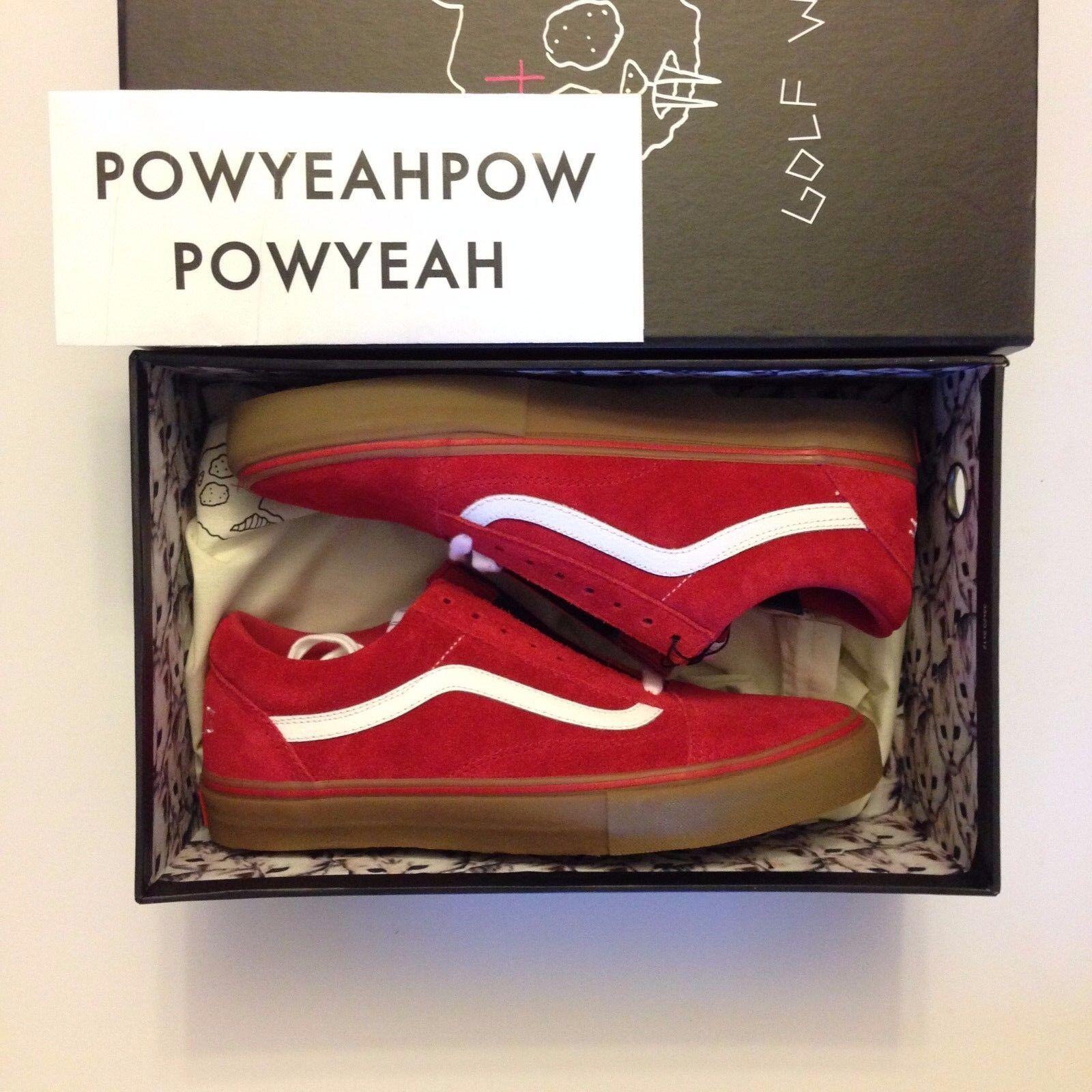 e9024694dad4 Спортивная обувь для мужчины VANS SYNDICATE GOLF WANG ODD FUTURE OLD SKOOL  PRO VN-OQHM8L - 232098477116 - купить на eBay.com (США) с доставкой в  Украину ...