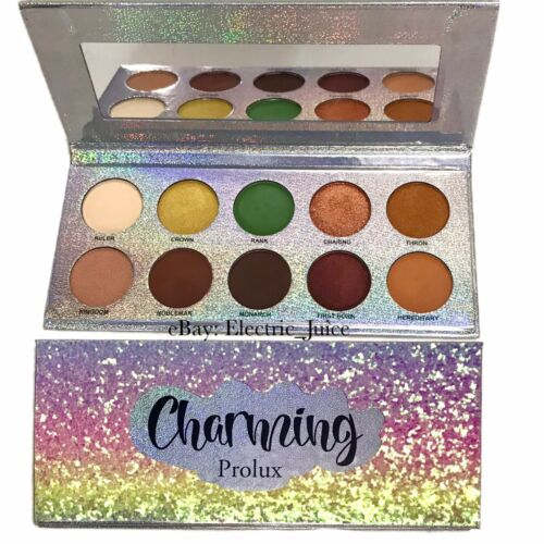 *NEW* Charming Prolux Palette 10 Colors Eyeshadow Palette Ma