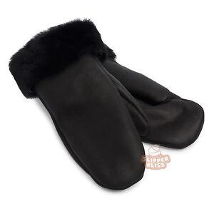 100% Genuine SHEEPSKIN Mittens/Gloves for Women. BEST Quality on eBAY!
