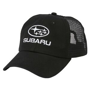 SUBARU Mesh Back Cap Hat Genuine Sti Rally Racing WRX Sti Impreza Forester  New 28625b4ad6a