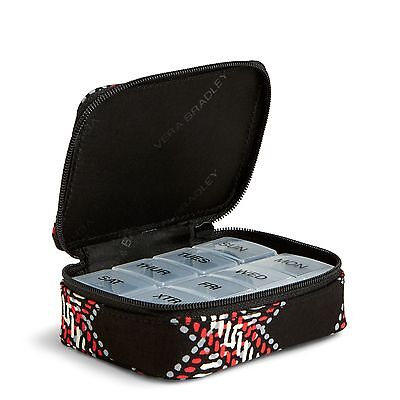 Vera Bradley Factory Exclusive Travel Pill Case in Minsk Plaid